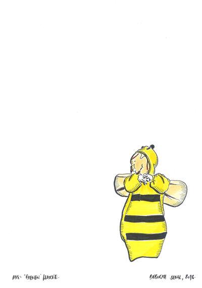 Deborah Sengl, 'Bienen (Bees), Larve', 2013