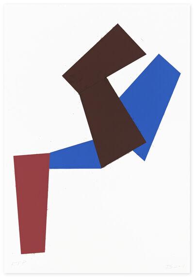 Joel Shapiro, 'Up Down Around (a)', 2011