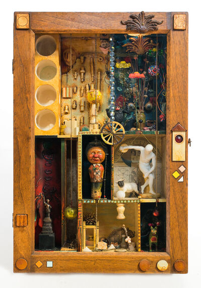 Wayne Nowack, 'Self Image: Marriage of Darkness and Light', 1970
