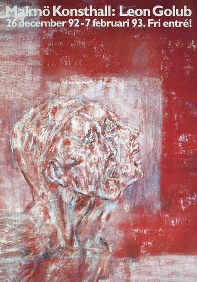 Leon Golub, 'Twin Faces', 1992