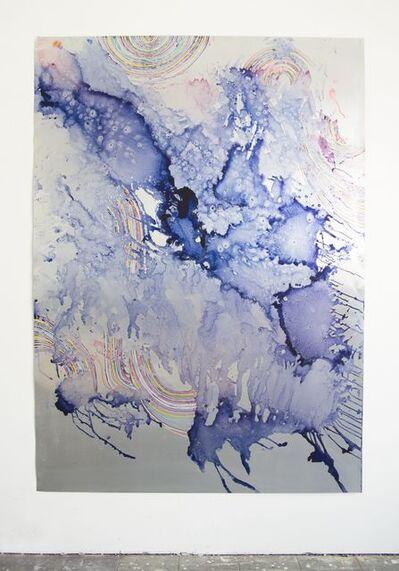 Myriam Holme, 'vom werden, dem fallenden', 2019