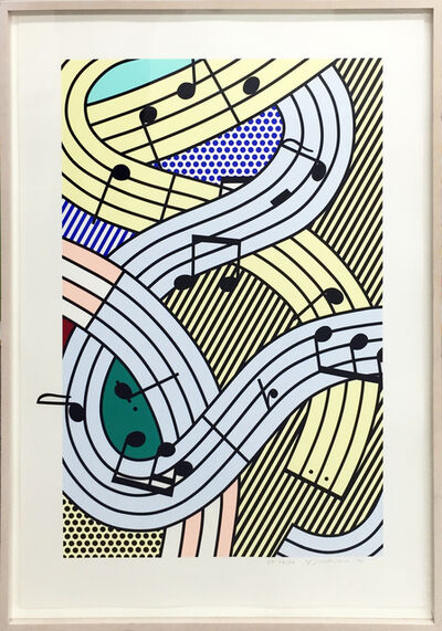 Roy Lichtenstein, 'Composition III', 1996