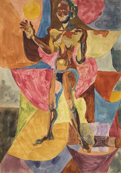 Flávio de Carvalho, 'Nu feminino', 1966
