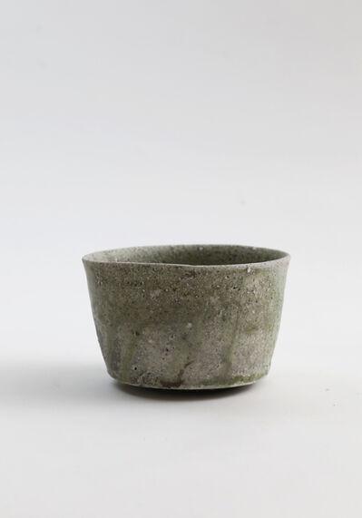 Yui Tsujimura, 'Natural ash glaze cylinder shaped tea bowl', 2017