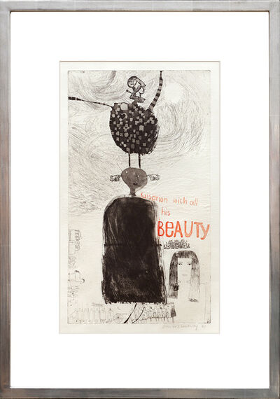 David Hockney, 'Kaisarion and all His Beauty', 1961