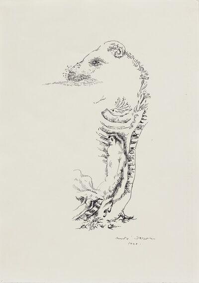 André Masson, 'Bélier pourrissant (Disintegrating Ram)', 1940