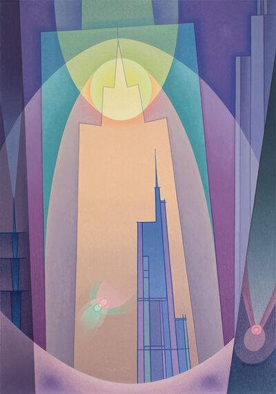 Raymond Jonson, 'City Ultimate', 1936