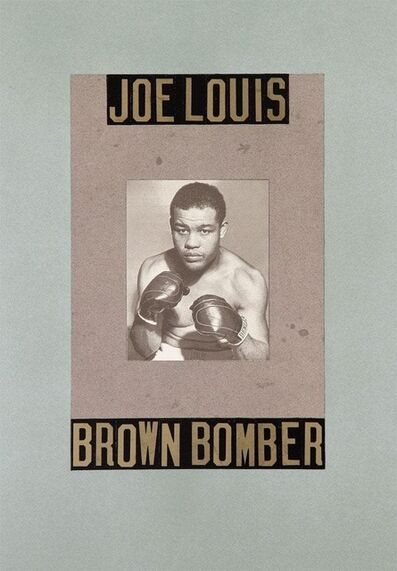 Peter Blake, 'B is for Boxer', ca. 2020