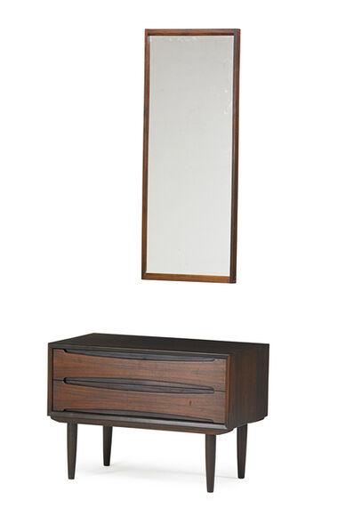 Erik Wortz, 'Erik Wortz Cabinet & Aksel Kjersgaard Mirror', 1960s