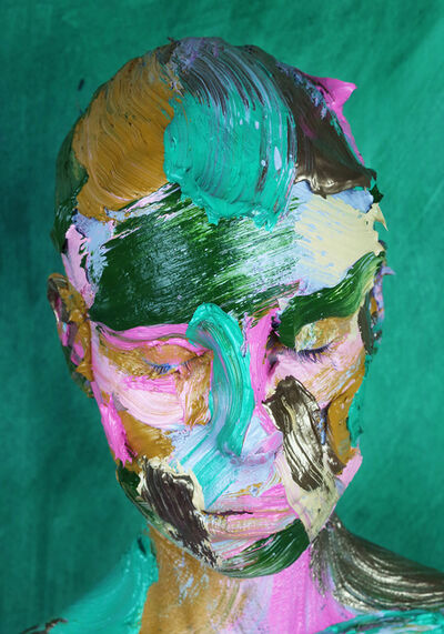 Sophie Derrick, 'Evergreen - Emerald + Gold #1', 2019