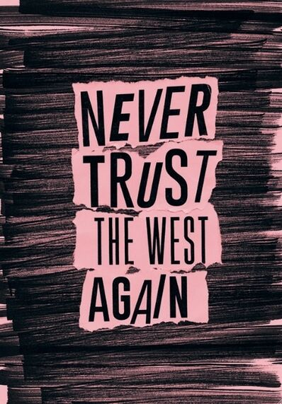 The Cool Couple, 'Never trust the West again', 2014