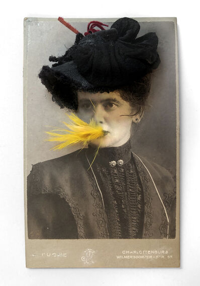 Gary Brotmeyer, 'Woman with a Black Hat Eating a Canary Nº1', 1998