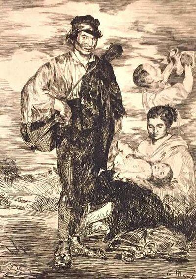 Édouard Manet, 'Les Gitanos', 1962
