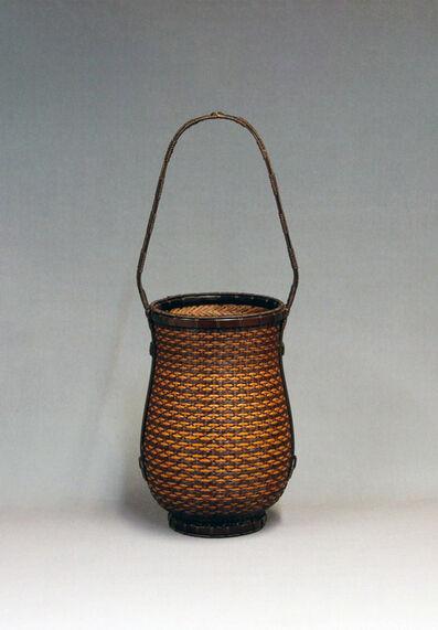 hirasawa noboru, 'Chidori Spiral Flower Basket', 2019
