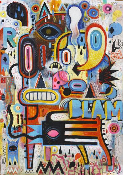 Niark1 Sebastien Feraut, 'Blam', 2015