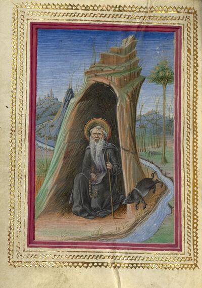 Taddeo Crivelli, 'Saint Anthony Abbot', 1469