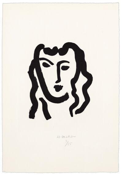 Henri Matisse, 'Patitcha. Masque', 1947