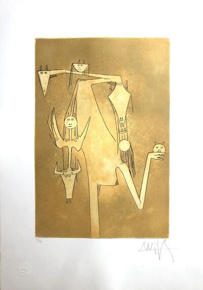 Wifredo Lam, 'La Sensualité de la Femmes Caraibes (The Sensuality of Caribbean Women)', 1980