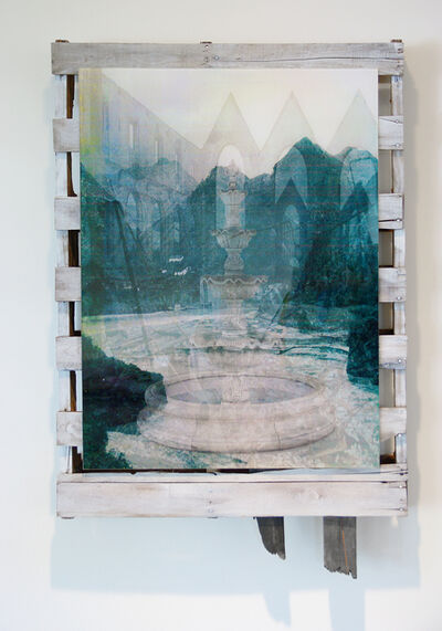 Ian Pedigo, 'China Mountains Abbey Ruin Fountain', 2014