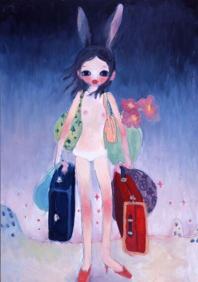 Aya Takano, 'Mail Mania Mami, Standing in a Storm *'