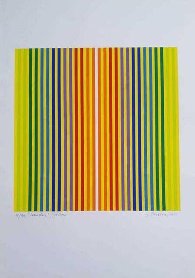 Jorge Pereira, 'Bandas Yellow', 2011