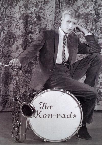 David Bowie, 'Publicity photograph for The Kon-rads', 1966