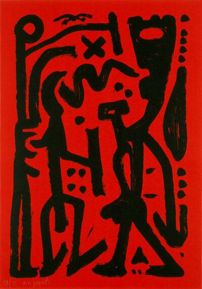 A.R. Penck, 'Musica', 1990
