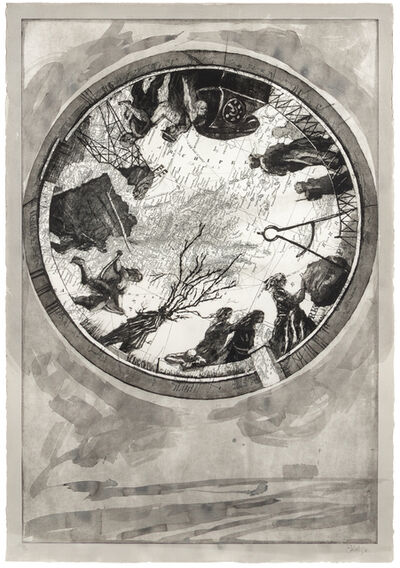 William Kentridge, 'Atlas Procession I', 2000