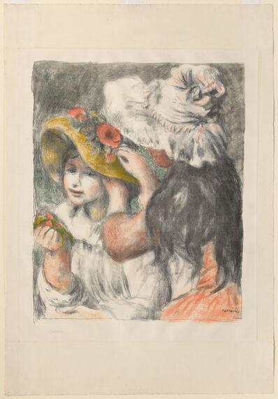 Pierre-Auguste Renoir, 'Pinning the Hat: Second Plate', ca. 1898