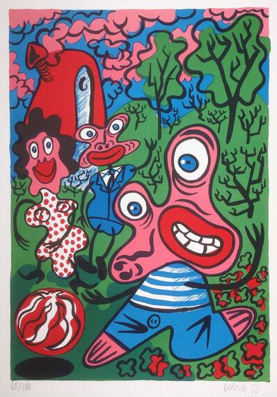 Hervé Di Rosa, 'Sans titre - Untitled', 1988