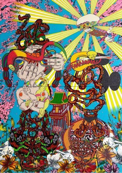 Keiichi Tanaami, 'Flare-up Universe', 2014