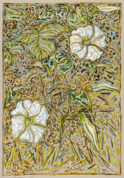 Billy Childish, 'bindweed', 2016