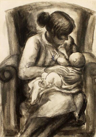 Baltasar Lobo, 'Mère et enfant', 1986