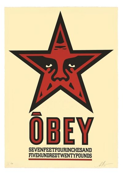Shepard Fairey, 'Obey Star', 2019