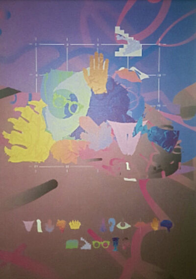 Jaume Xifra, 'Composition 3', 1991