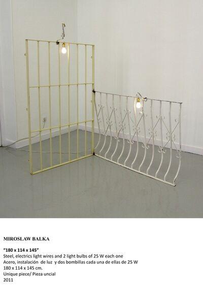 "Miroslaw Balka, '""180 x 114 x 145""', 2011"