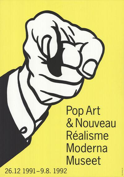 Roy Lichtenstein, 'Pointing Finger', 1992