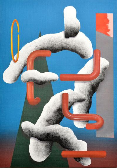 Lee Marshall, 'U/T (in Blue)', 2014