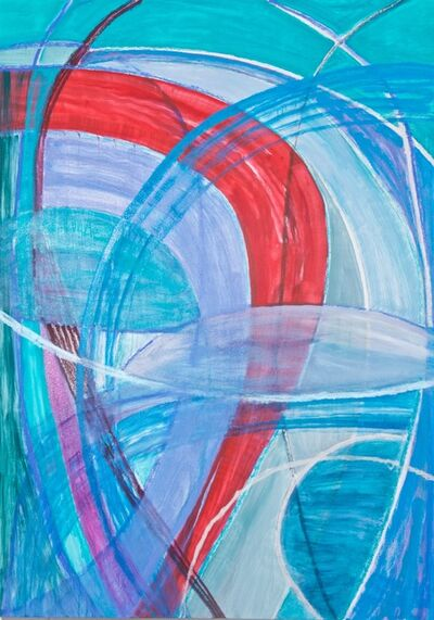 Susan Moss, 'Colorsphere 4 (Turquoise)', 2020