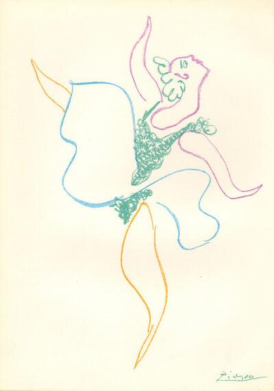 Pablo Picasso, 'Danseuse', 1954