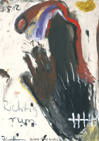 Max Neumann, 'Richtig rum', 1982