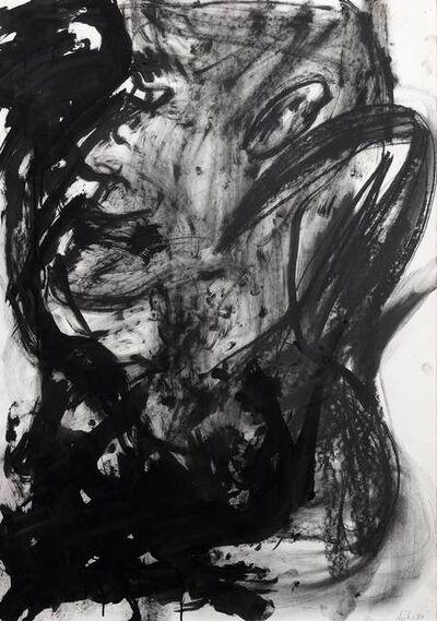 Martin Disler, 'Self-portrait?', 1983