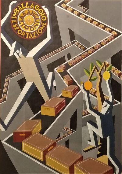 Fortunato Depero, 'Arance e limoni', 1927