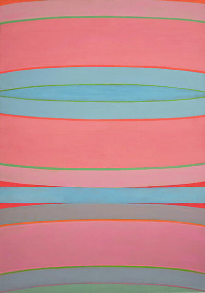Michael Loew, 'Pink and Blue'