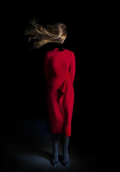 Miguel Vallinas, 'Vos cheveaux ondulés dans le vent', ca. 2017