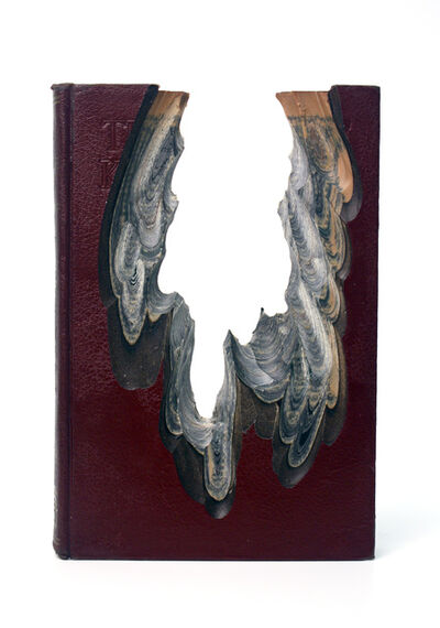 Jessica Drenk, 'Carving: Book of Knowledge 4', 2015