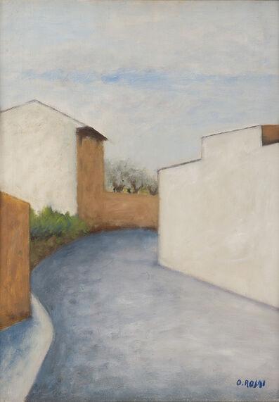 Ottone Rosai, 'Strada della periferia', 1955 circa