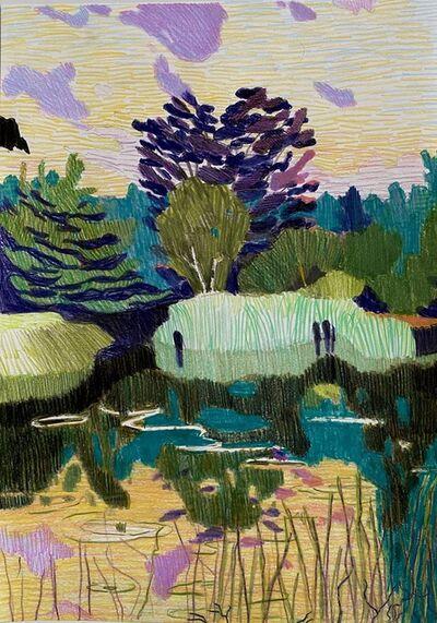 Per Adolfsen, 'Sunset by the Lake', 2020