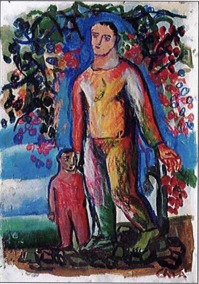 Sandro Chia, 'Settembre 2004', 2003