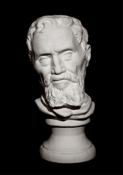 Li Hongbo 李洪波, 'Bust of Michelangelo', 2012